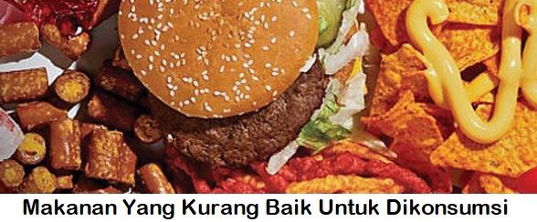 Hindari Makanan Ini Mulai Sekarang Kalau Mau Hidup Sehat