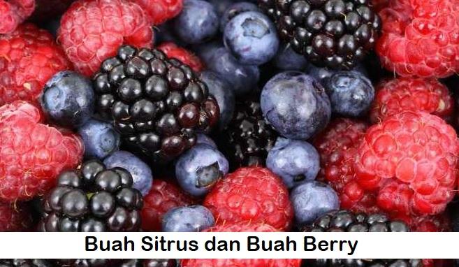 Buah Sitrus dan Buah Berry